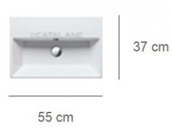 Умывальник Catalano Premium 155VP00