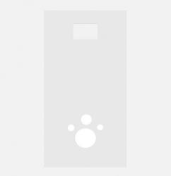 Декоративная панель Sanit 17.152 для бачка унитаза