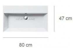 Умывальник Catalano Premium 180VP00