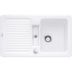 Мойка кухонная Villeroy&Boch Condor 50 673202R1 White alpin/Blanc Белый альпин