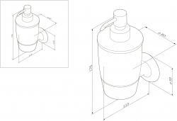 Дозатор жидкого мыла Am.Pm Like A8036900