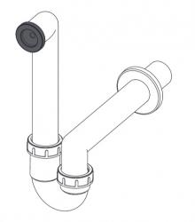 Сифон Alca Plast AKS2 для сбора конденсата