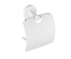 Держатель туалетной бумаги с крышкой Bemeta